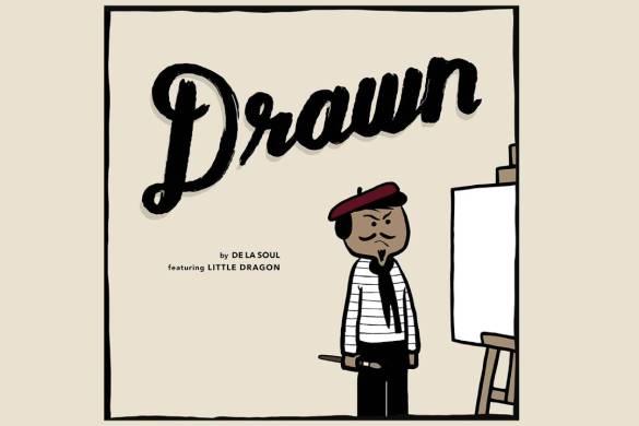 Drawn by De La Soul featuring Little Dragon