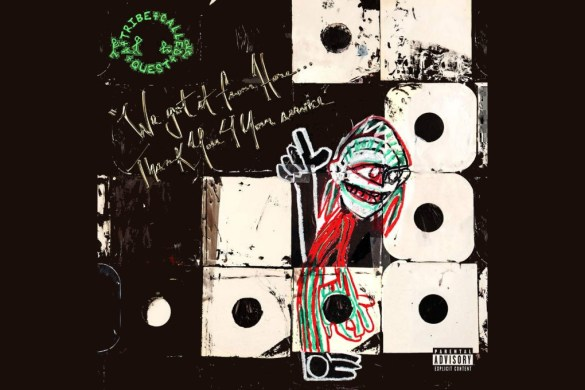 a tribe called quest we got it from here album cover
