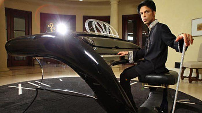 Prince's Schimmel Pegasus Grand Piano at Paisley Park