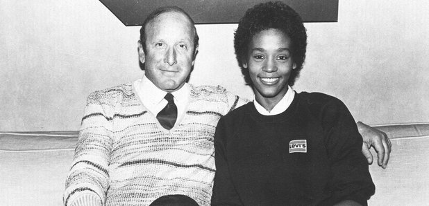 Whitney Houston with Clive Davis