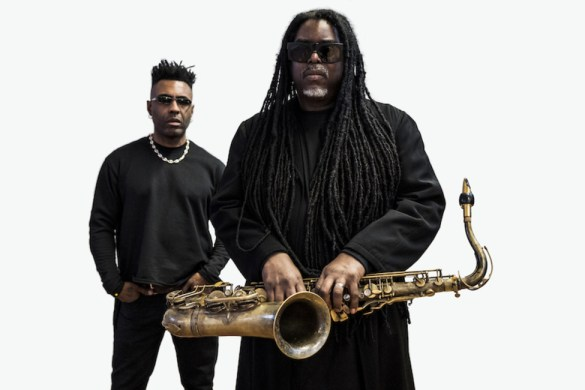 "Courtney Pine and Omar ""Butterfly"""