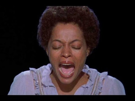 Diana Ross Singing Home in the Wiz