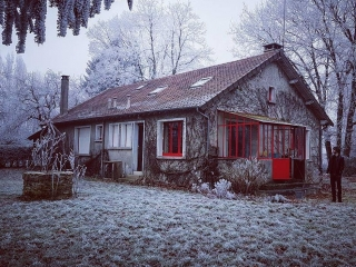 Frosty French Countryside