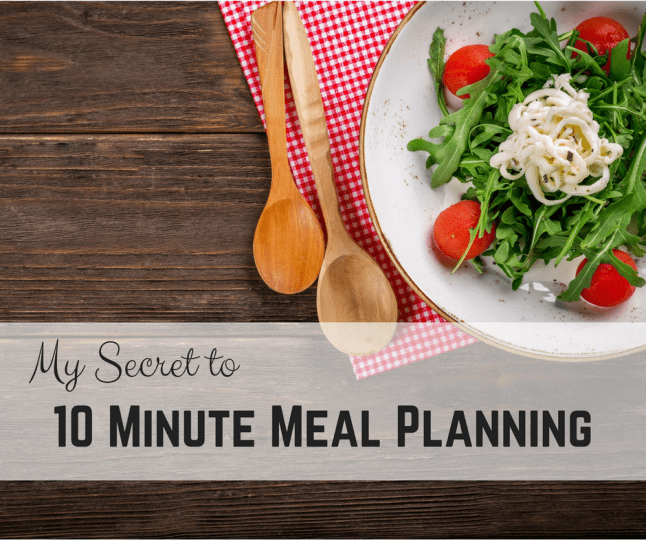 My secret to 10 minute meal planning soulmate workmate its 530 pm the kids are whining because they are hungry your husband is coming home any minute expecting dinner to be ready forumfinder Images