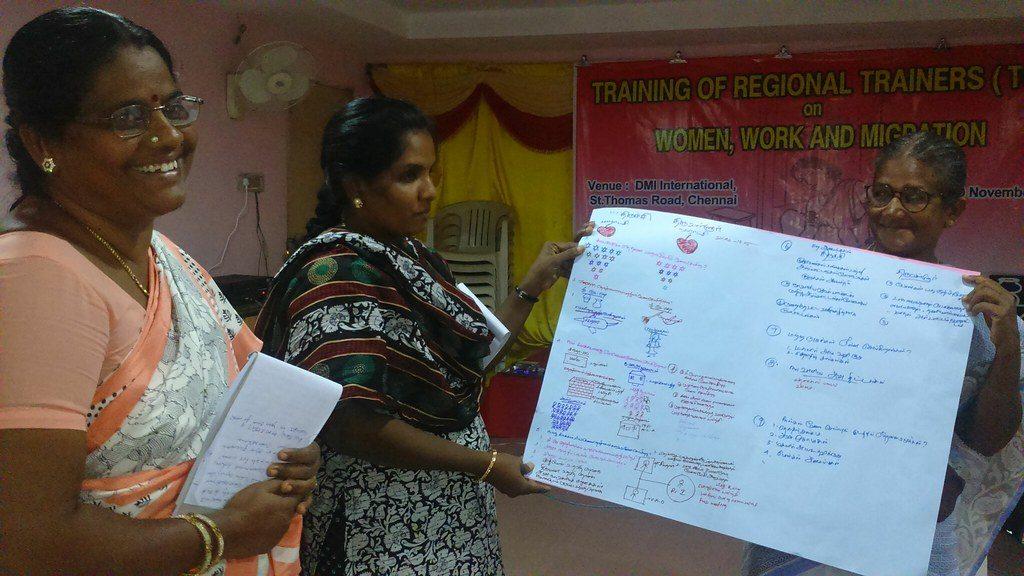 Women Leaders presenting