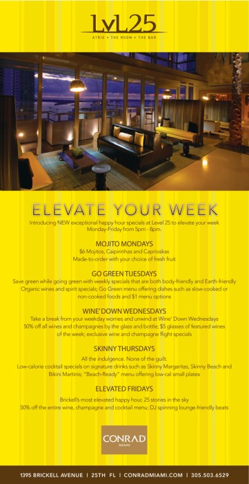 elevate your week new