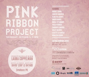 Pink Ribbon Project Invite 2