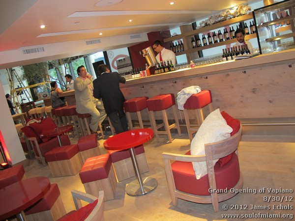 Photographs of Grand Opening of Vapiano in Brickell on 8/30/12 ...