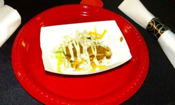 B.C. Taco's Chicken and Friend Avocado Taco