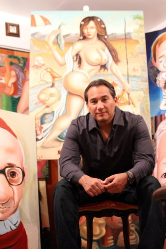 "Artist Juan Carlos ""JC"" Bravo"