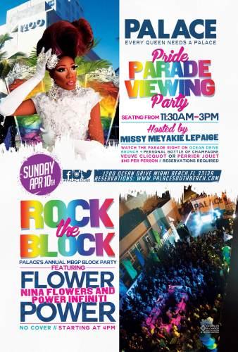 Miami Beach Gay Pride Parade Viewing Party 4/10/16 - The