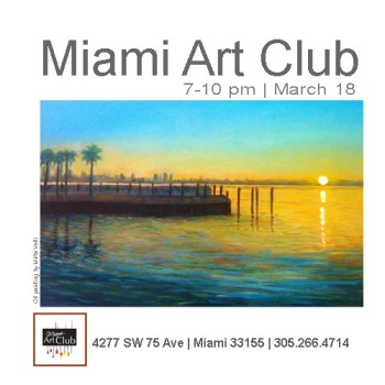 Miami Art Club | Artists Reception 3/18/17 - The Soul Of Miami