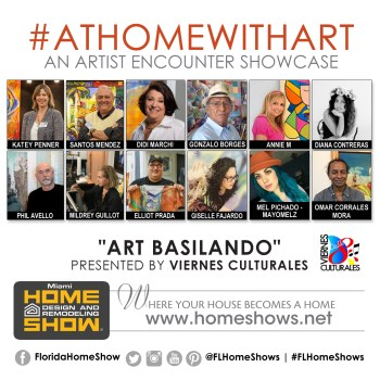 Art Basilando Athomewithart Showcase At The Miami Home