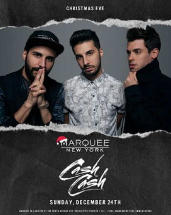 Cash Cash – NYC's #1 Christmas Eve Party 12/24/17 - The Soul Of Miami