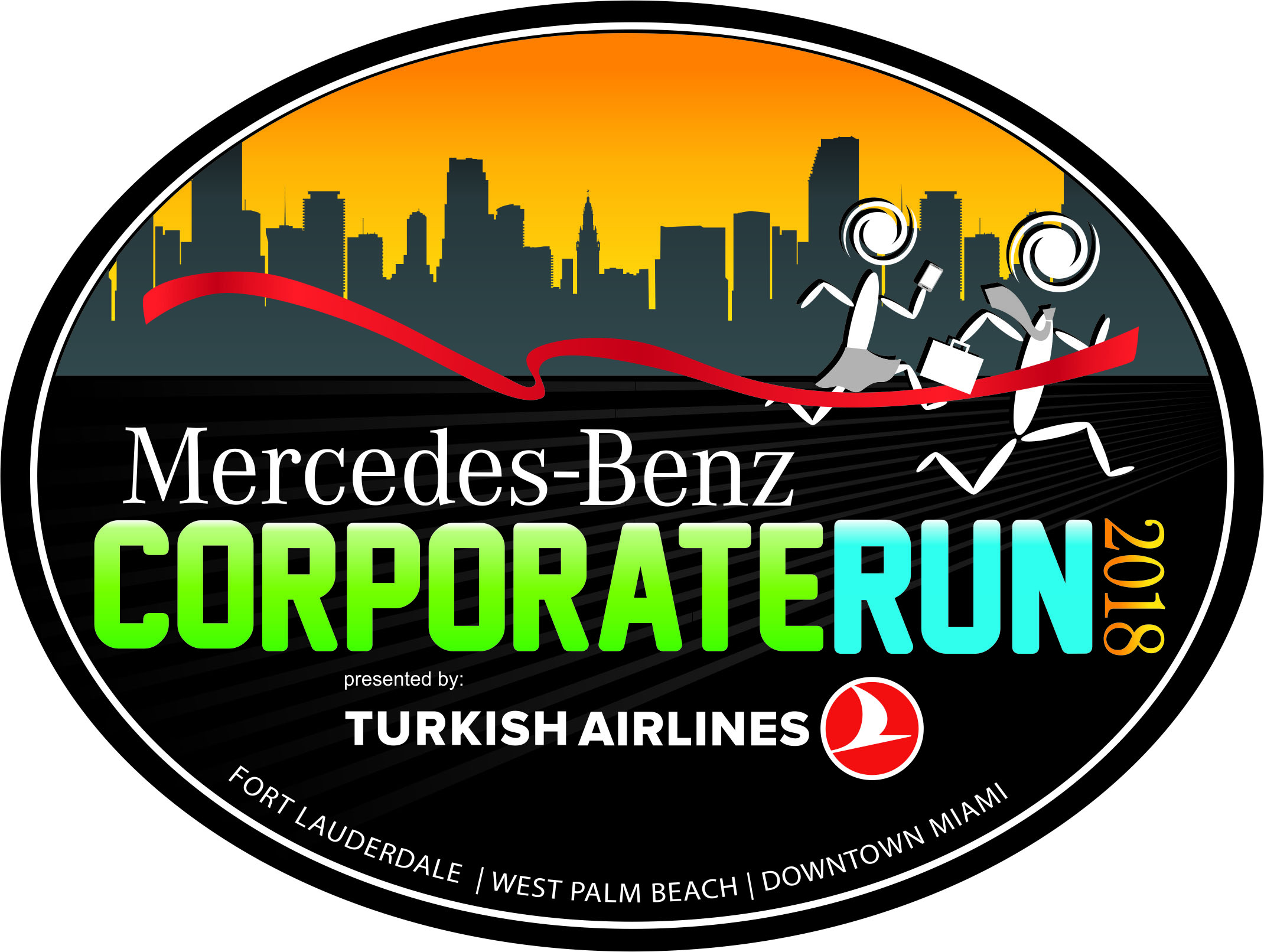 2018 Mercedes Benz Corporate Run Presented By Turkish Airlines U2013 West Palm  Beach Wednesday, 04/11/2018 U2013 06:45 Pm U2013 09:30 Pm