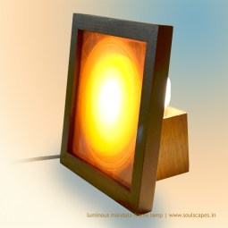 Awakening Mandala Luminous Frame Lamp