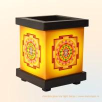 Sri Yantra Tea Light Lamp