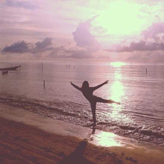 yoga at sunrise samahita