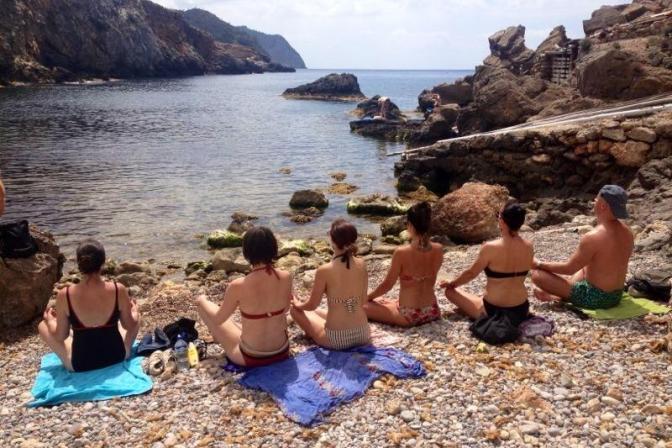 Kirsty Gallagher yoga retreat