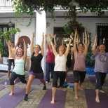 yoga and fitness retreat