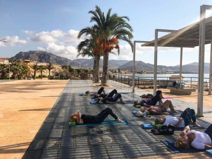 spanish and pilates holiday