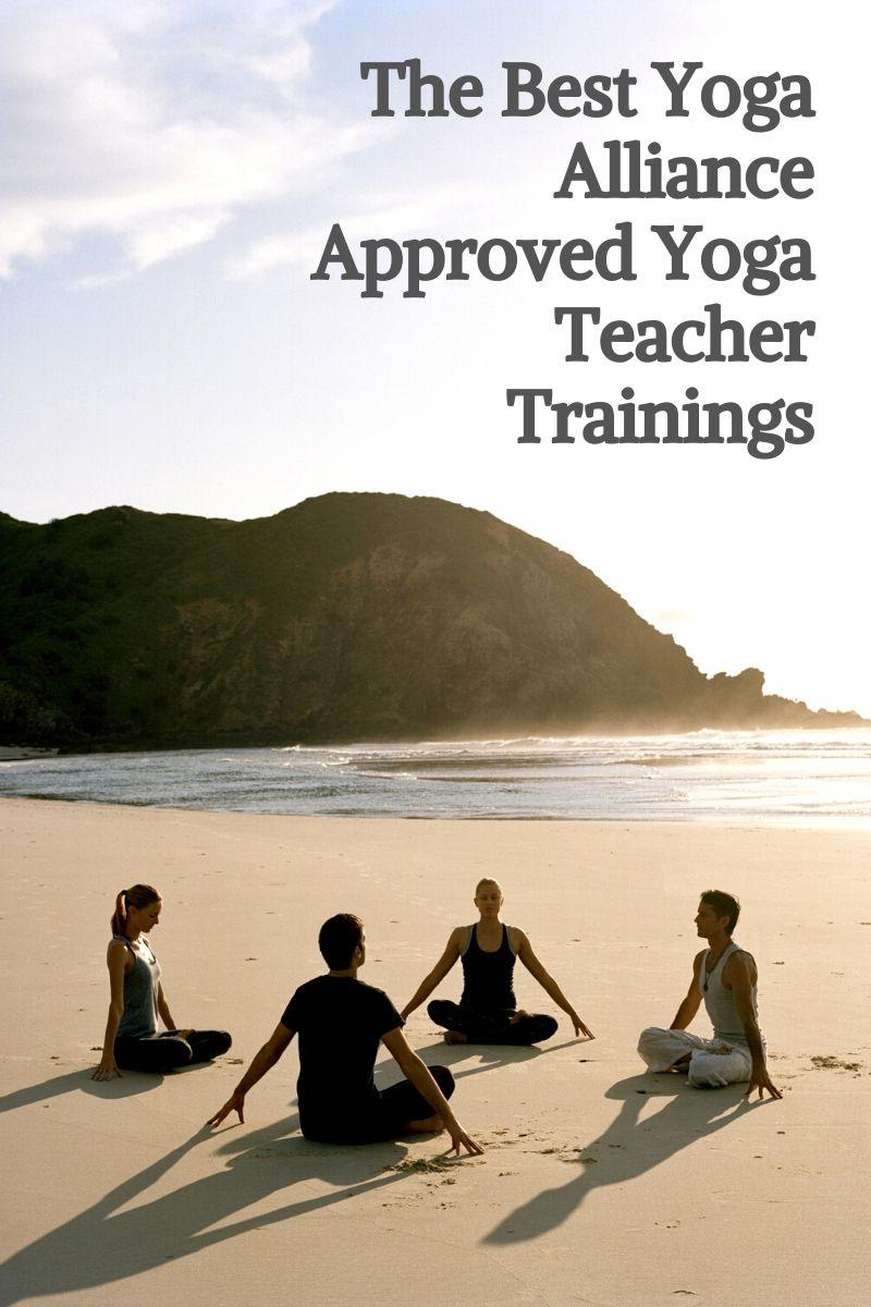 The Best Yoga Alliance Approved Yoga Teacher Trainings