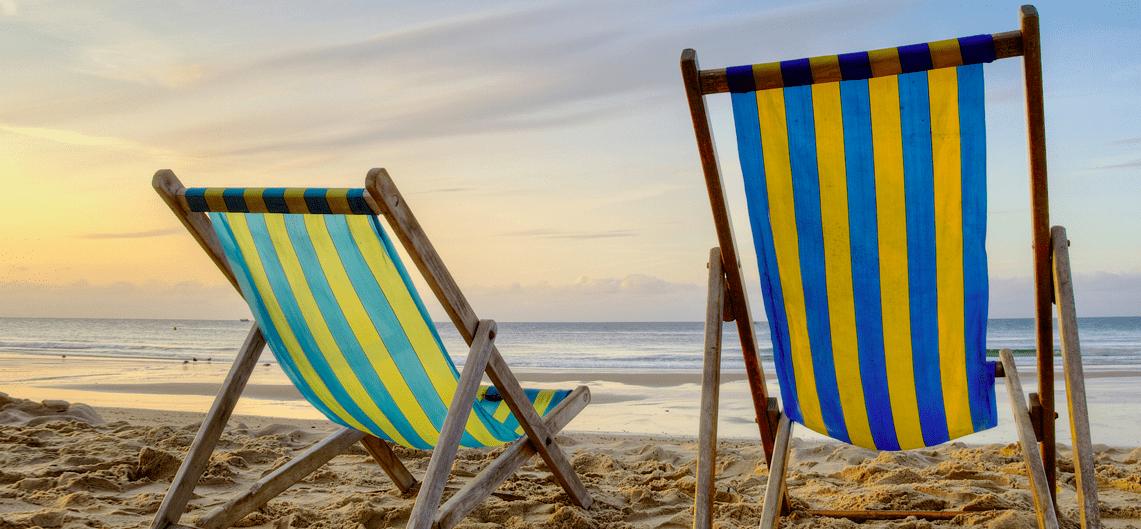 summer beach yoga holiday