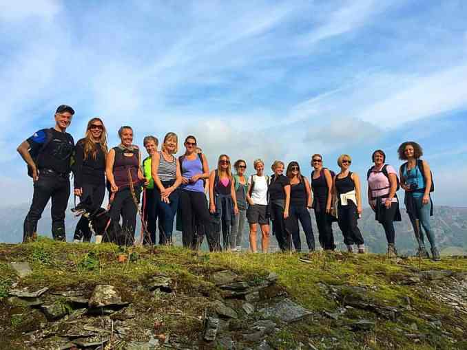 yoga and hiking retreat in the Lake District