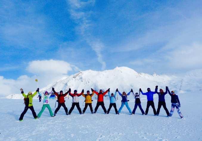 yoga and skiing holiday