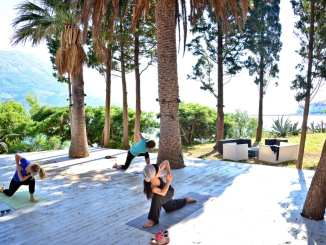 seaside yoga holiday croatia