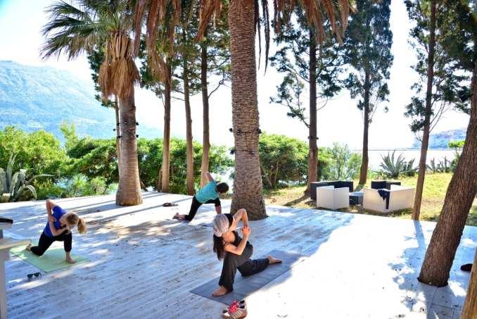 seaside yoga holiday croatia