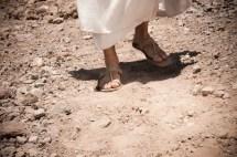 Jesus Walking to Jerusalem