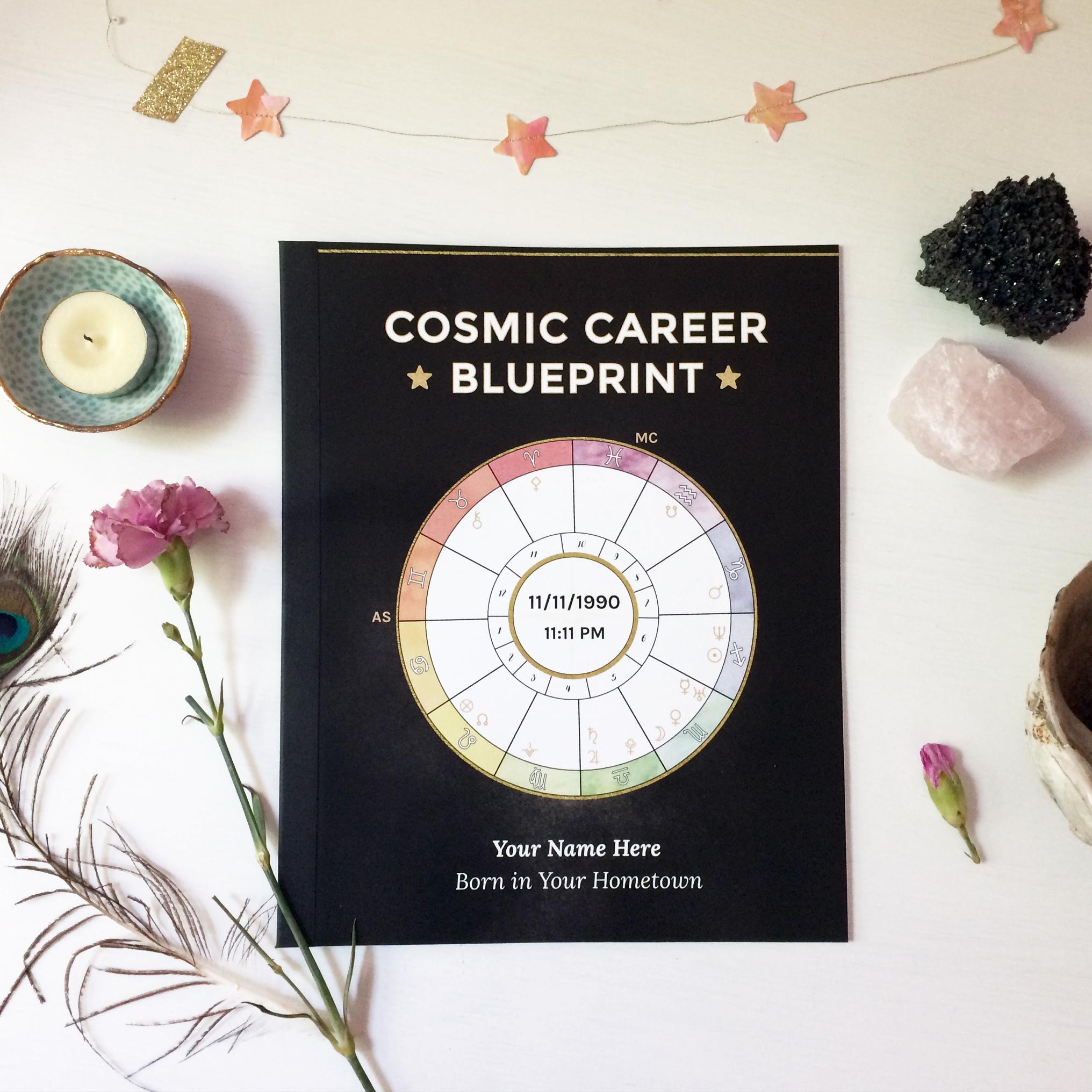 Cosmic career blueprint soulshine astrology digital print edition malvernweather Images