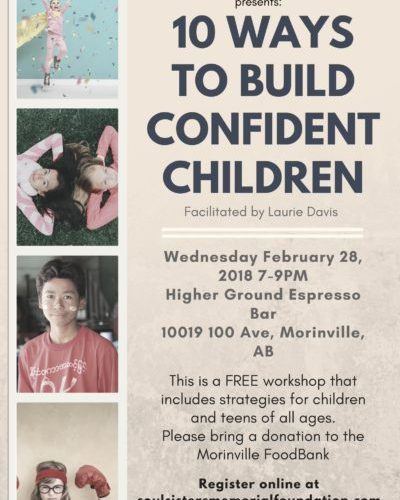 10 Ways to Build Confident Children!