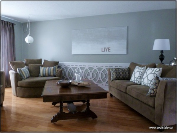 Living Room Wainscot Soulstyle