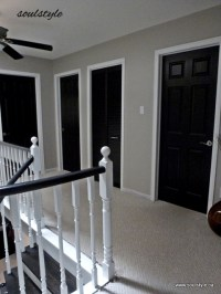 Black Interior Doors - soulstyle Interiors and Design