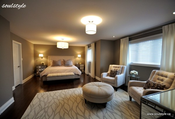 master bedroom design Happily Ever Before & After Week 23: Master Bedroom Makeover via Soul Style - Love of Family & Home