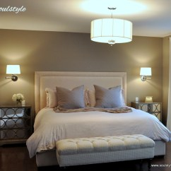 Painting Ideas For Kitchen And Living Room Modern Colors Rooms Upholstered Headboard & Bench - Soulstyle Interiors Design