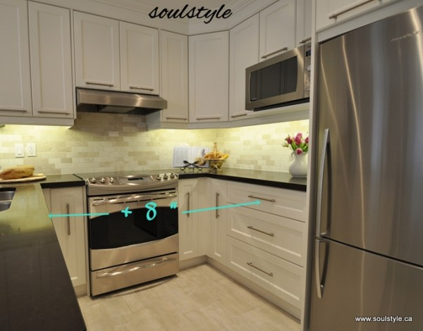 Kitchen renovation Increased width