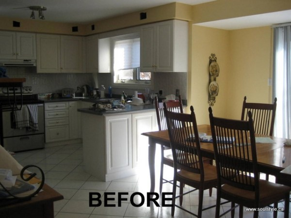 Kitchen renovation Before 1