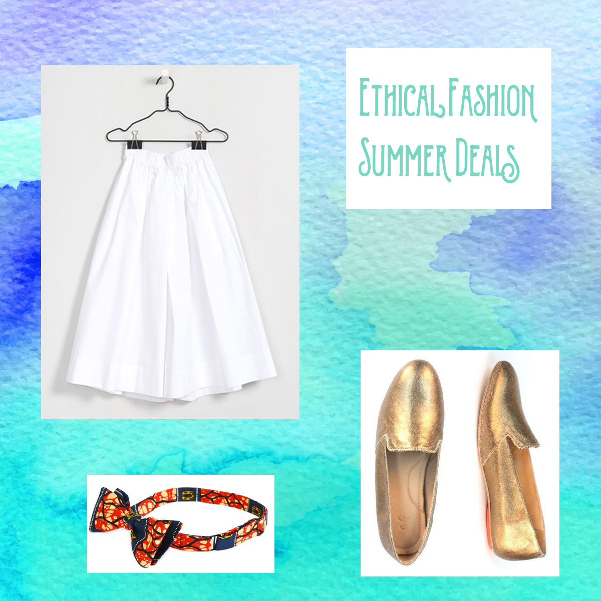 Ethical fashion summer deals