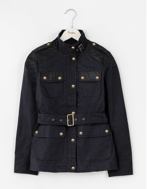 Sustainable fitted jacket