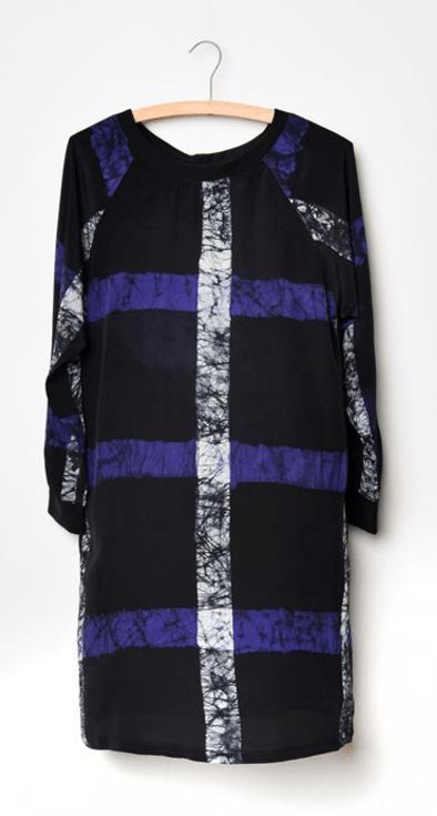 Ethical fashion silk dress