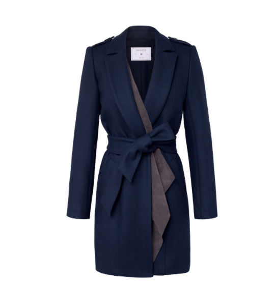 Ethical fashion coat by Shipper