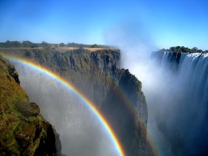Cascate Victoria Zambia