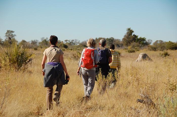 Safari a piedi Botswana