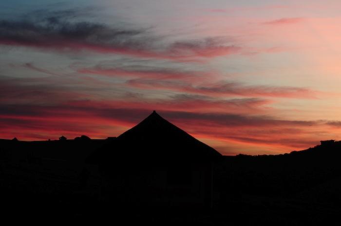 Villaggio tramonto Bulungula