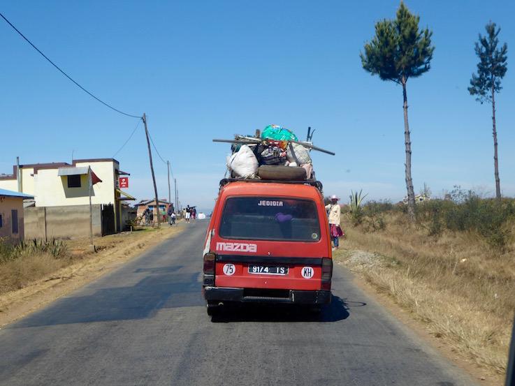Passaggio ad ovest in taxi-brossee