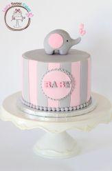 bolo-chá-de-bebê-elefante