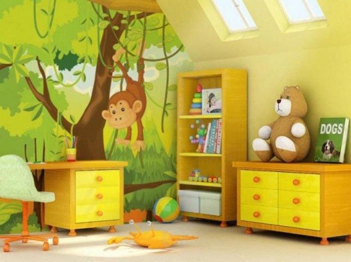 papel-de-parede-quarto-infantil-floresta